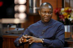 Nigeria's Petroleum Minister Dr. Ibe Kachikwu