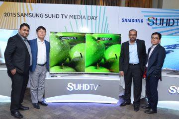 Samsung debut curve SUHD TV in Nigeria