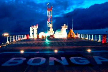 Shell wins global energy award with Bonga North west