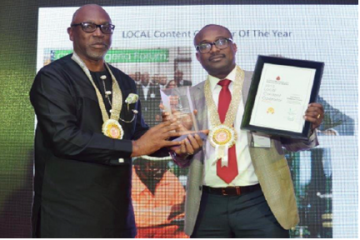 SPDC wins 2015 PETAN Local content operator award