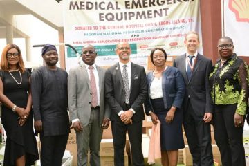 CSR: SNEPCO donates equipments to Lagos health sector
